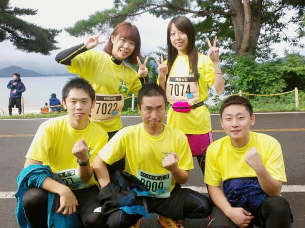 田沢湖マラソン2015